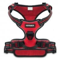 China Voyager Dual-Attachment Adjustable Harness - Red Lattice wholesale