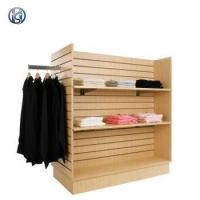 China Customized Floorstanding Slatwall Clothing Display wholesale