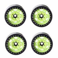 Buy cheap DJX 4PCS 2.2inch Beadlock Wheel Hubs for 1/10 RC Rock Crawler Traxxas TRX-4 Axial from wholesalers
