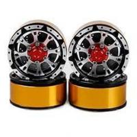 Buy cheap DJX 4PCS Metal 1.9 Inch Beadlock Wheel Rims for RC Rock Crawler Axial SCX10 TAMIYA from wholesalers