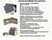 Quality Granite, Marble Tiles (Cut to Size) for sale